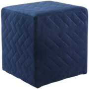 Quilted Cube-Blue