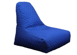 Quilted Bean Bag-Blue