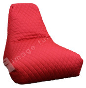 Quilted Bean Bag-Red