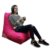 Quilted Bean Bag-Pink