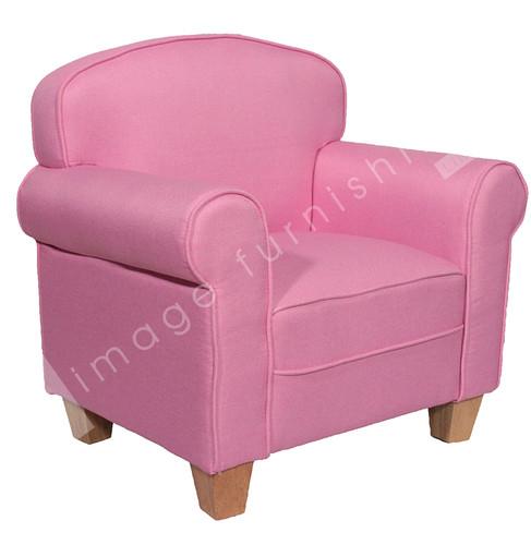 Eva Chair Pink Ideal Furniture