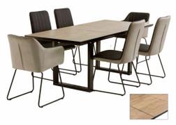 Cadiz Dining Table (Ext. 160 cm)