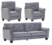 Bexley 3+1+1 Seater-Grey