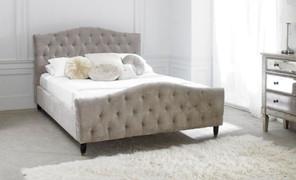 LB20 Bed 6'-Mink Velvet