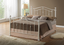 Elizabeth Bed 4'-Cream