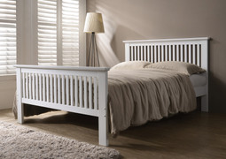 Denver 4'6 Bed- White