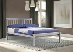 Sandra 4'6 Bed-Grey