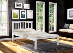 Sandra 4' Bed-White