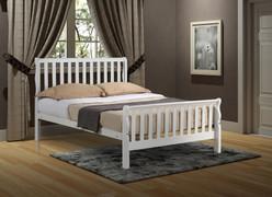 Leon 4' Bed-White