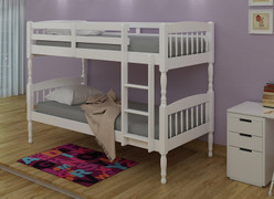 Alex Bunk Bed-White