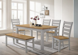 Chelsea Dining Set-Grey