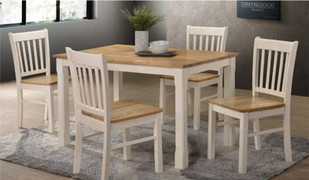 Bolton Dining Set-White