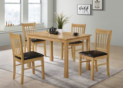 Bolton Dining Set-Oak