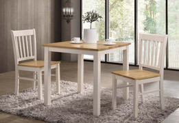 Galina Dining Set-White