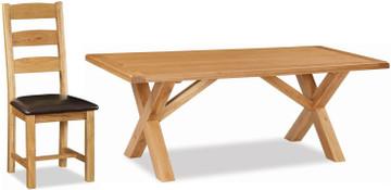 Salisbury Cross Dining Table