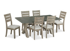 Rockhampton Dining Set with 6 Chairs ( 230cm)