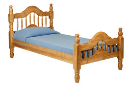 Naples 3ft Single Bed  Solid pine Bed