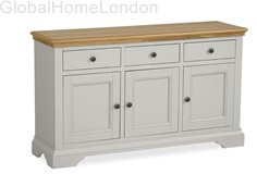Chester Large Sideboard-Grey Oak