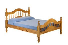 Naples 4ft6 Double Bed Solid pine Bed