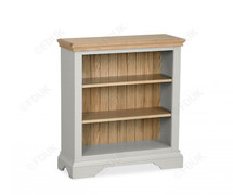 Chester Low Bookcase-Grey Oak