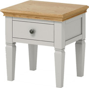 Chester Lamp Table-Grey Oak