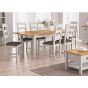 Devon Compact EXT Dining Set with 4 Chairs