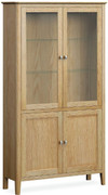 Bath Oak Display Cabinet