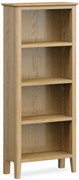 Bath Oak Slim Bookcase