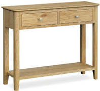 Bath Oak Console Table