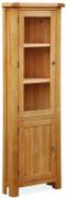 Cork Oak Corner Display Cabinet