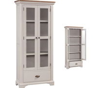 Lyon Painted Display Cabinet