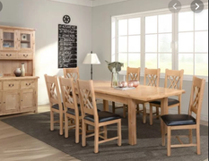 Clonmel Dining Set Ext. 140 cm