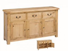 Clonmel 3 Door Sideboard