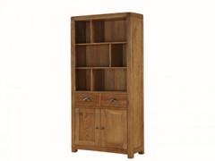 Oakridge Dark High Display Cabinet