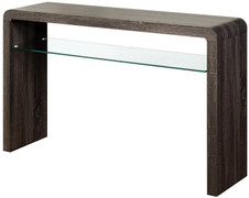 Encore Charcoal Medium Console Table