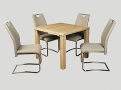 Encore Sonoma Dining Set with Khaki Chairs