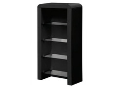Clarus Black DVD Storage Unit