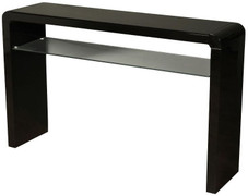 Clarus Black Medium Console Table
