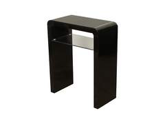 Clarus Black Small Console Table