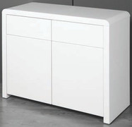Clarus White 2 Door Sideboard