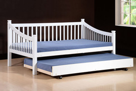 Jordan White 3ft Single Day Bed  Pull Out (Available Separately)
