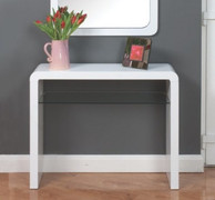 Clarus White Medium Console Table
