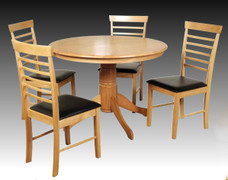 Hanover Light Large Round Dining Set