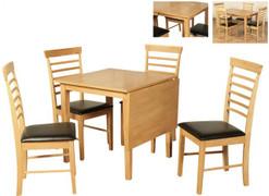 Hanover Medford 1 Drop Leaf Dining Set