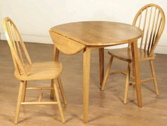 Hanover Country Drop Leaf Dining Set