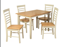 Berlin 3.5' Fixed Top Dining Set