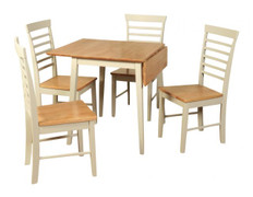 Berlin Square Drop Leaf Dining Set