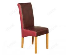 Charlene Dining Chair-Burgundy