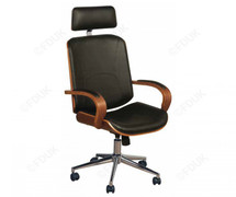 Executive Office Chair-Walnut Veneers