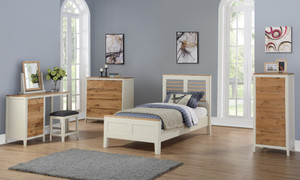 Dunmore Painted 3' Bed
